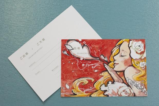 超美技 結婚式の招待状を美大生が返信したらどうなるか Kekoon ケコーン 結婚 結婚式 恋愛に関するサムシング情報をお届け