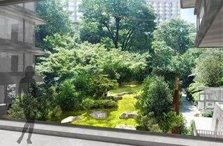 ホテル椿山荘東京神殿外観