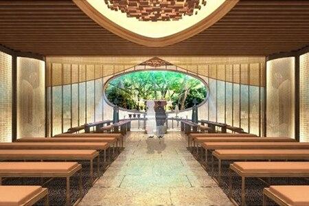 ホテル椿山荘東京に庭園内神殿が今秋誕生♪ 都心に居ながら森の中での神前挙式がかなう