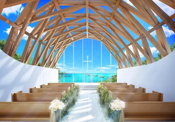 ハイアット日本初のリゾートホテルに、360度沖縄の海に囲まれたチャペルが誕生