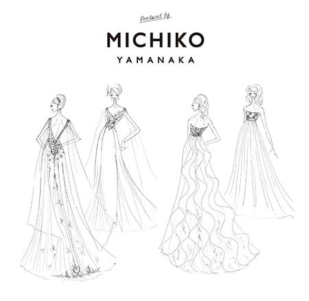 デザイナーで人気インスタグラマーの山中美智子さんプロデュース! リゾートウエディングにぴったりの大人のドレスが誕生
