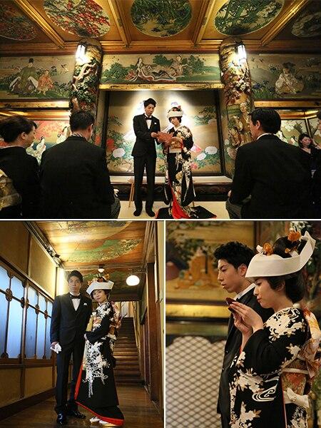 昭和初期に建てられた文化財「百段階段」で人前挙式! 目黒雅叙園が新プラン発表