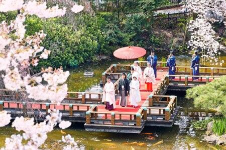 4月までなら衣装代最大24万円オフの特典も♪ 東郷神社 原宿 東郷記念館でかなえるあこがれの和婚