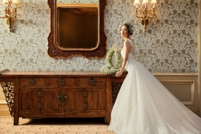 ホテル椿山荘東京から「自分らしさ」を表現できるオリジナルウエディングドレスが登場