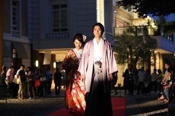 大好評につき今年も開催! 川越総鎮守・氷川神社で行われるウエディングファッションショーに注目
