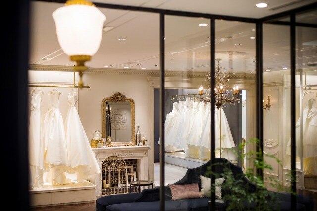 本物志向の花嫁は必見! 人気ドレスショップが関西初上陸