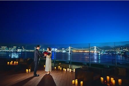 ホテル インターコンチネンタル 東京ベイで9つのプロポーズプランが登場! ベイサイドビューの夜景を独占するロマンチックな時間を