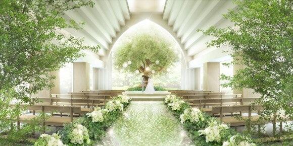 【8月リニューアルオープン!】「ザ コンチネンタル横浜」に木の下で誓う新挙式スタイルのセレモニースペースが誕生
