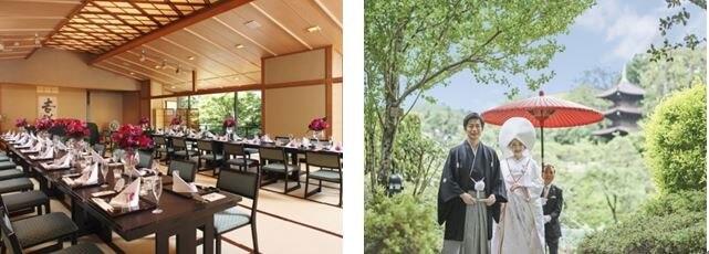 ホテル椿山荘東京で本格的な和の新プラン「道」が誕生。日本の伝統文化でおふたりの新たな道の始まりを新提案!