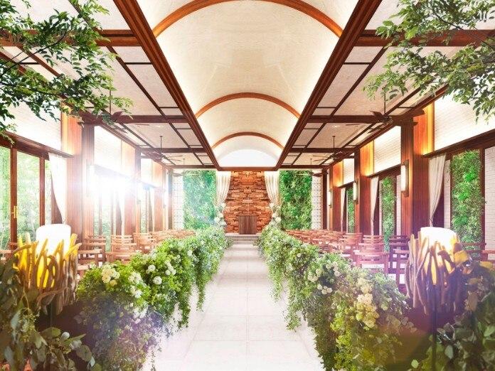 「A LA MODE PALAIS&THE RESORT」(ア・ラ・モード パレ&ザ・リゾート )に森のチャペル「ラヴェイユ」とガーデンチャペル「ルミエル」がオープン!