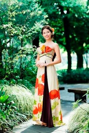 日本の伝統をドレスとしてまとう......アンティーク振袖がドレスに!「祥縁(SHOEN)」誕生