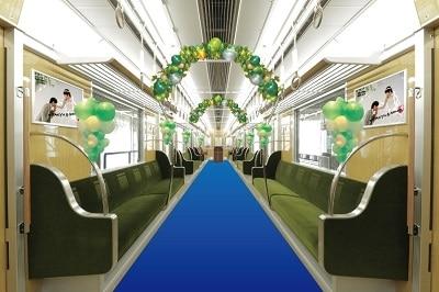 開業50周年を記念した「ウエディングトレイン」が話題! ~千里阪急ホテル CLASSIC GARDEN~