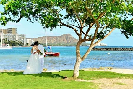 芸能人結婚式海外1