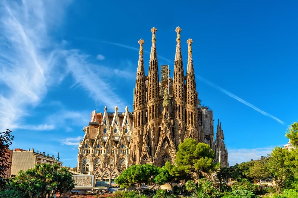 新婚旅行スペイン