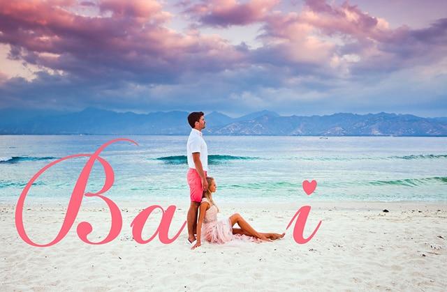バリ島の新婚旅行