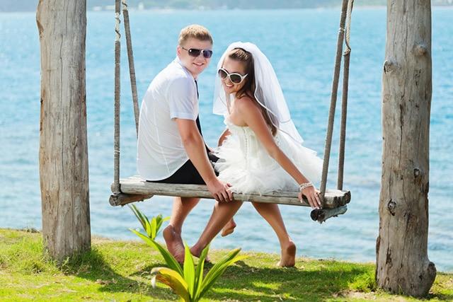 ハワイ新婚旅行