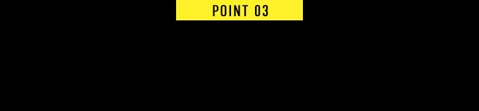 POINT 03 Recommend オススメのチャペル&式場を紹介