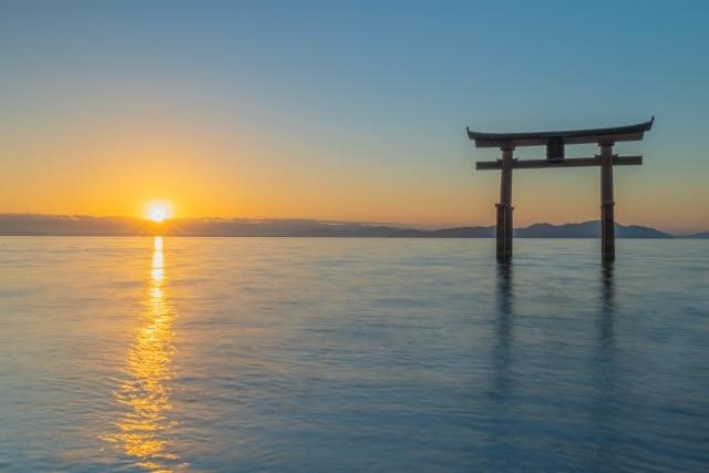 琵琶湖(白髭浜など)