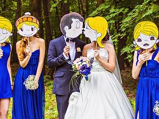 結婚式 マスク