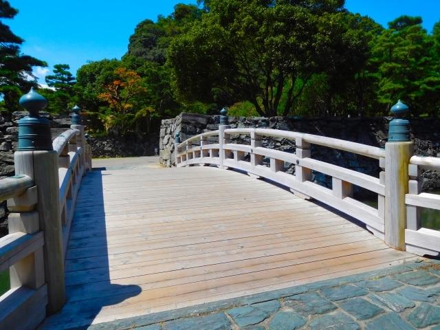 徳島城公園(数寄屋橋、白壁、博物館など)