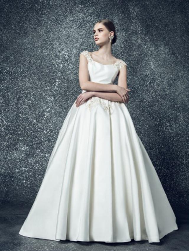 マーメイドライン ドレス イラスト
