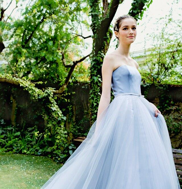 カラードレス ブルー2