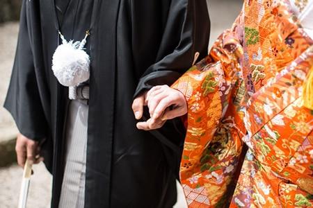 国際結婚和装