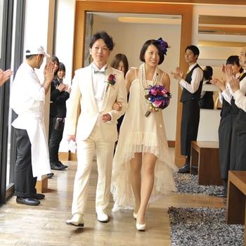 ミニ丈ドレス2