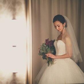 こだわり抜いてみつけたヴェラ・ウォンのウエディングドレス