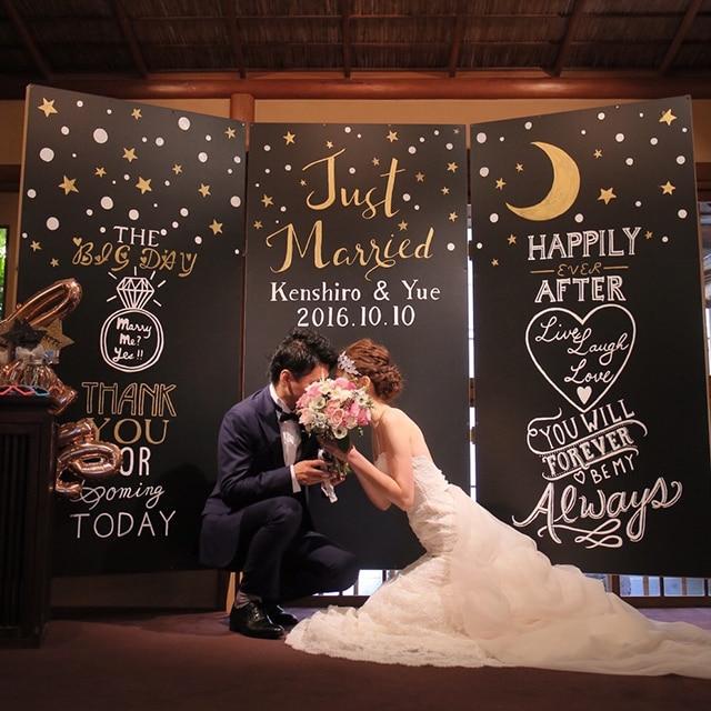 ふたりの愛と、ゲストからの祝福を封じ込めたオリジナルセレモニー