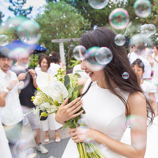 ブライズモデルとして思い入れのあるチャペルでの結婚式