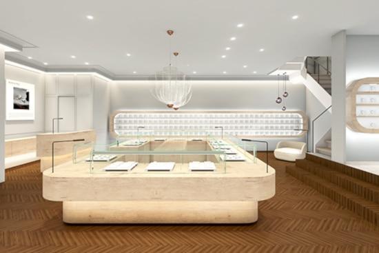 ブライダルリングセレクトショップ「ビジュピコ銀座店」が、移転リニューアルオープン