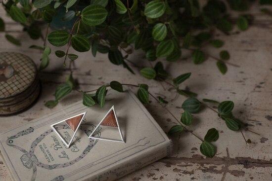 エッジの効いた木材×シルバー ジュエリーシリーズデビュー! 年輪 銀座店にて販売開始