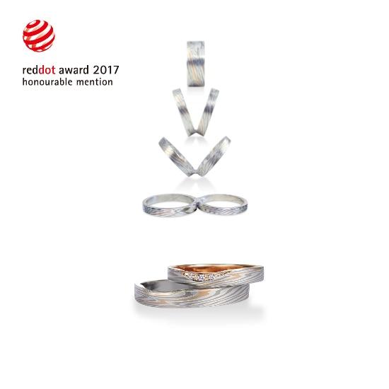 2年連続! 杢目金屋の結婚指輪が、レッドドット・デザイン賞受賞