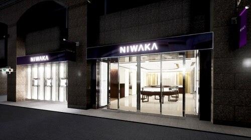 ジュエラー「NIWAKA(俄)」、神戸店を旧居留地エリアに移転・拡大オープン!