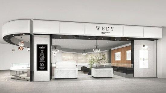 ブライダルリングのセレクトショップ「WEDY」が、東北最大級の商業施設にオープン!