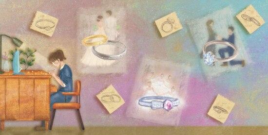 オーダーメイドの結婚指輪にまつわるストーリー♪ 実話をもとにした「イズ」の絵本に注目