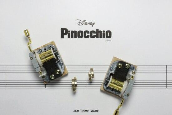 アニメ『ピノキオ』のあたたかい世界が広がる、
