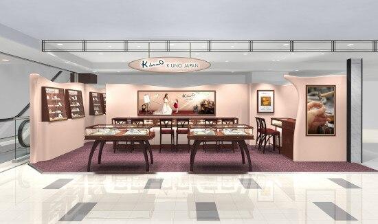 上質な日本の指輪を海外へ! 「ケイウノ」台湾2号店が「新光三越」2階にオープン