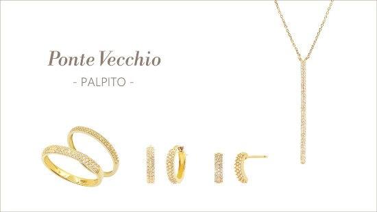 極小メレダイヤモンドがキュート♪ ポンテヴェキオの「PALPITO」コレクション