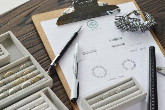 こだわり派カップルが注目♡ アトリエ renri「結婚指輪・婚約指輪のオーダーメイド」コース