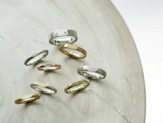 手作り結婚指輪の新提案! アトリエ「renri」のおしゃれな印台リングに注目