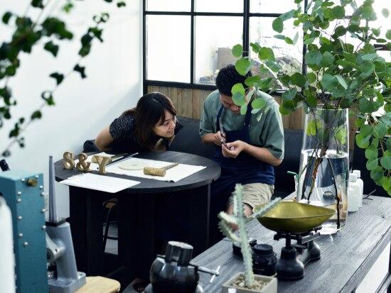 横浜の手作り結婚指輪「renri」のアトリエが広くなって新オープン! 完全予約制の個室でゆったりと♪