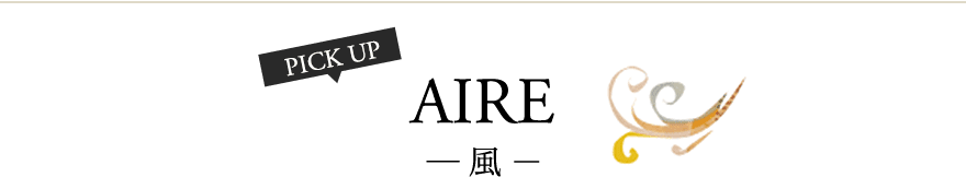 PICK UP AIRE ― 風 -