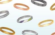 結婚指輪・婚約指輪にふさわしい素材とは?