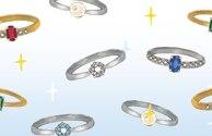 マリッジリングの 宝石はどんな風に選ぶ?