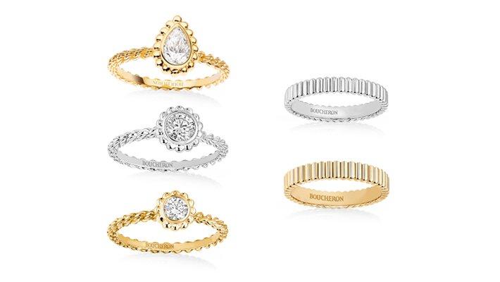 ... ハイブランドの結婚指輪・婚約