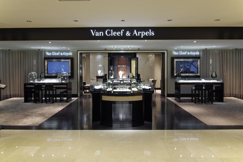 伊勢丹新宿店―Van Cleef & Arpels(ヴァン クリーフ&アーペル)