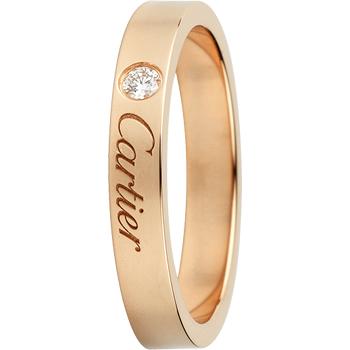 カルティエ エングレーブド ウェディング リング(1)―Cartier(カルティエ)