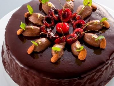 チョコレートのケーキ<br>【料理・ケーキ】エクラン・ビジュー